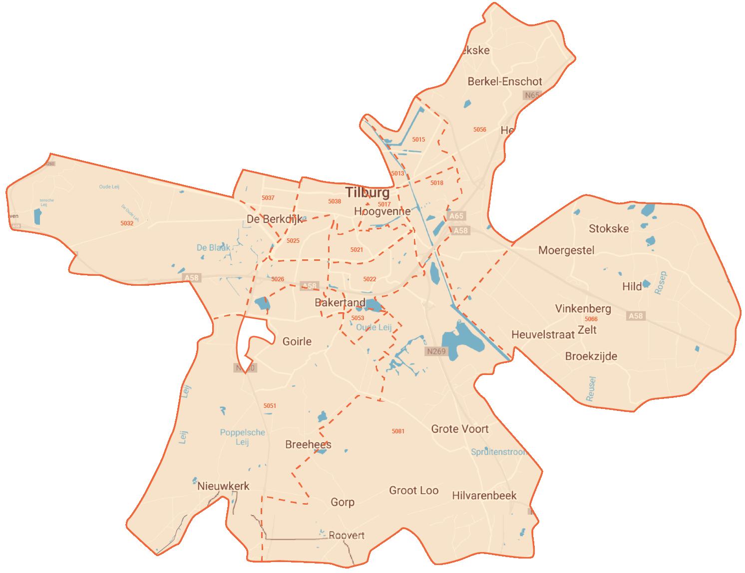 energiefabriek Kempenbaan gebied